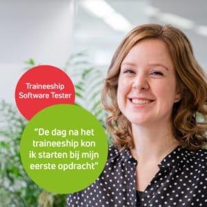 Julia vertelt hoe je ook zonder IT opleiding software tester kunt worden bij Polteq.