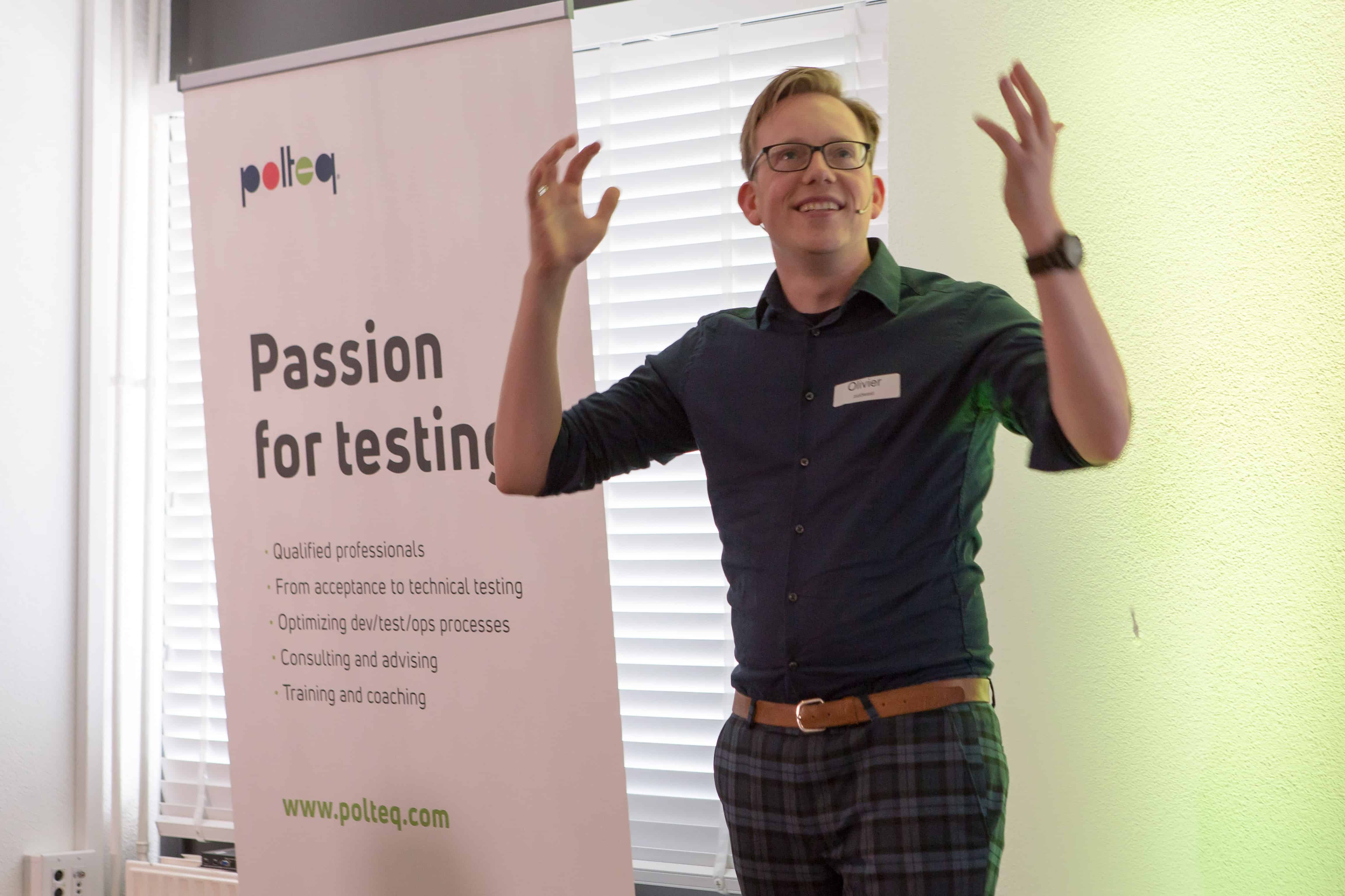 Olivier Mesker over het IT traineeship software tester van Polteq