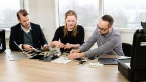 Het Mobile Test Lab van Polteq - Wij richten voor u een mobile test lab in die aansluit bij de toestellen en softwareversies van uw eindgebruikers.