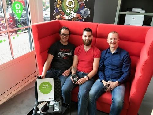 Mathijs Kadijk van Q42: 'Polteq is niet slechts onze leverancier, het voelt als een partnership.'
