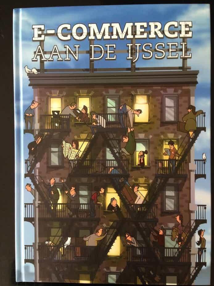 """Maandagavond 6 maart 2017 werd in Deventer, tijdens een feestelijke avond van MKB Deventer het boek """"E-commerce aan de IJssel"""" gepresenteerd. In dit boek staan succesverhalen van Deventer bedrijven en organisaties die zich op een of andere manier bezighouden met e-commerce."""