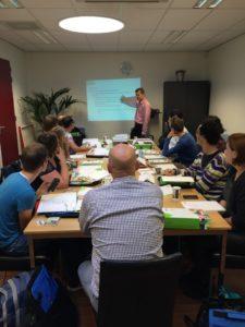 Polteq trainer Erik Runhaar geeft les bij AUTHENTICT