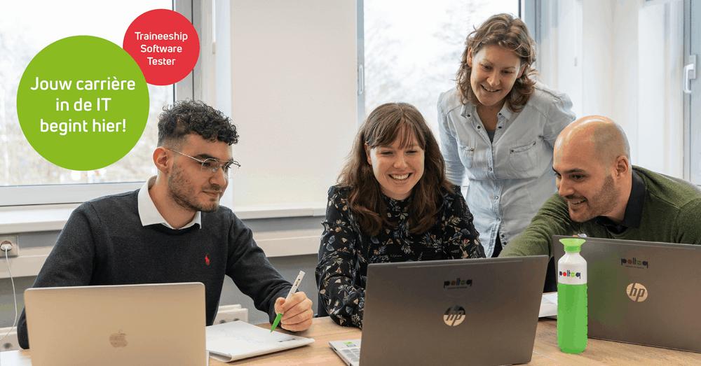 Carrièreswitch naar IT - traineeship software tester van Polteq