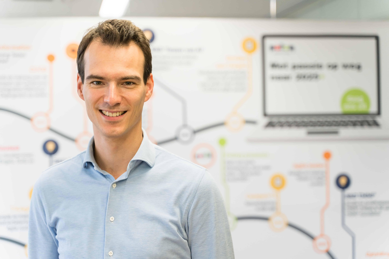 Trainee software tester Stefan de Wijs maakte een carrièreswitch vanuit de muziekwereld naar de IT.