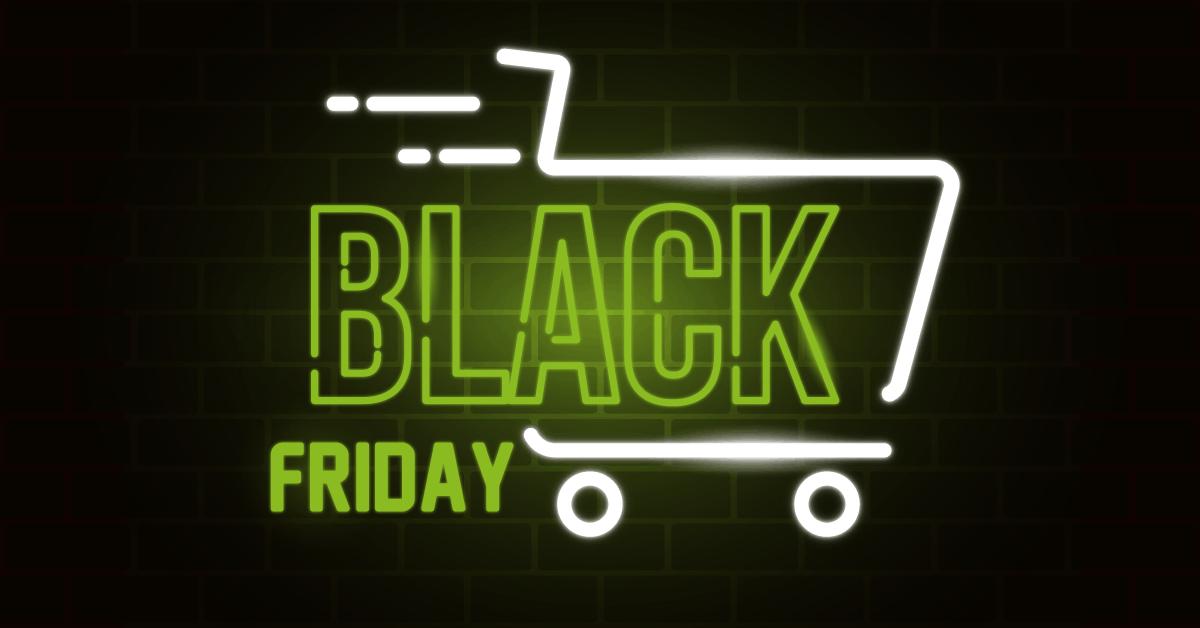 Black friday winkelkar