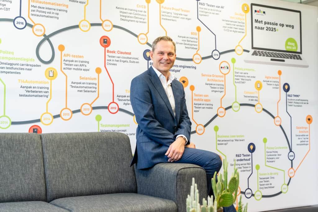Op 1 januari jl. is Marcel van Egmond gestart als directeur bij Polteq Test Services.