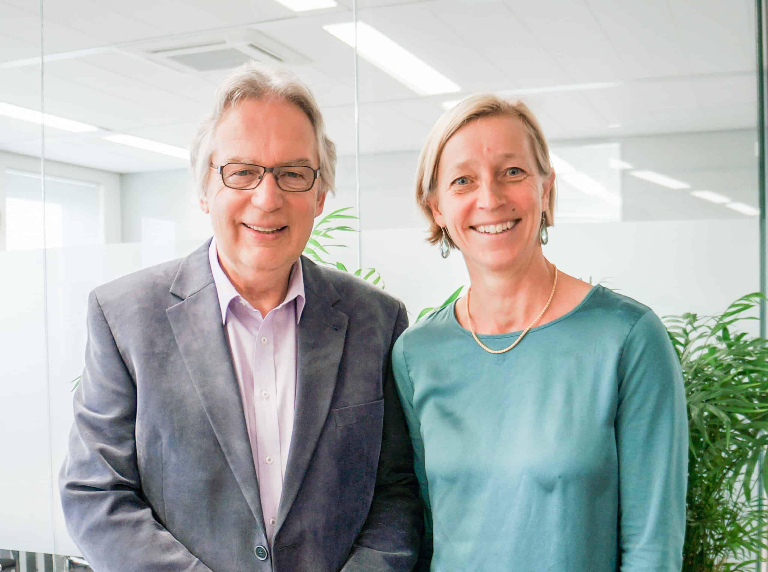 Martin Pol en Marjolein Steyerberg, de oprichters van Polteq