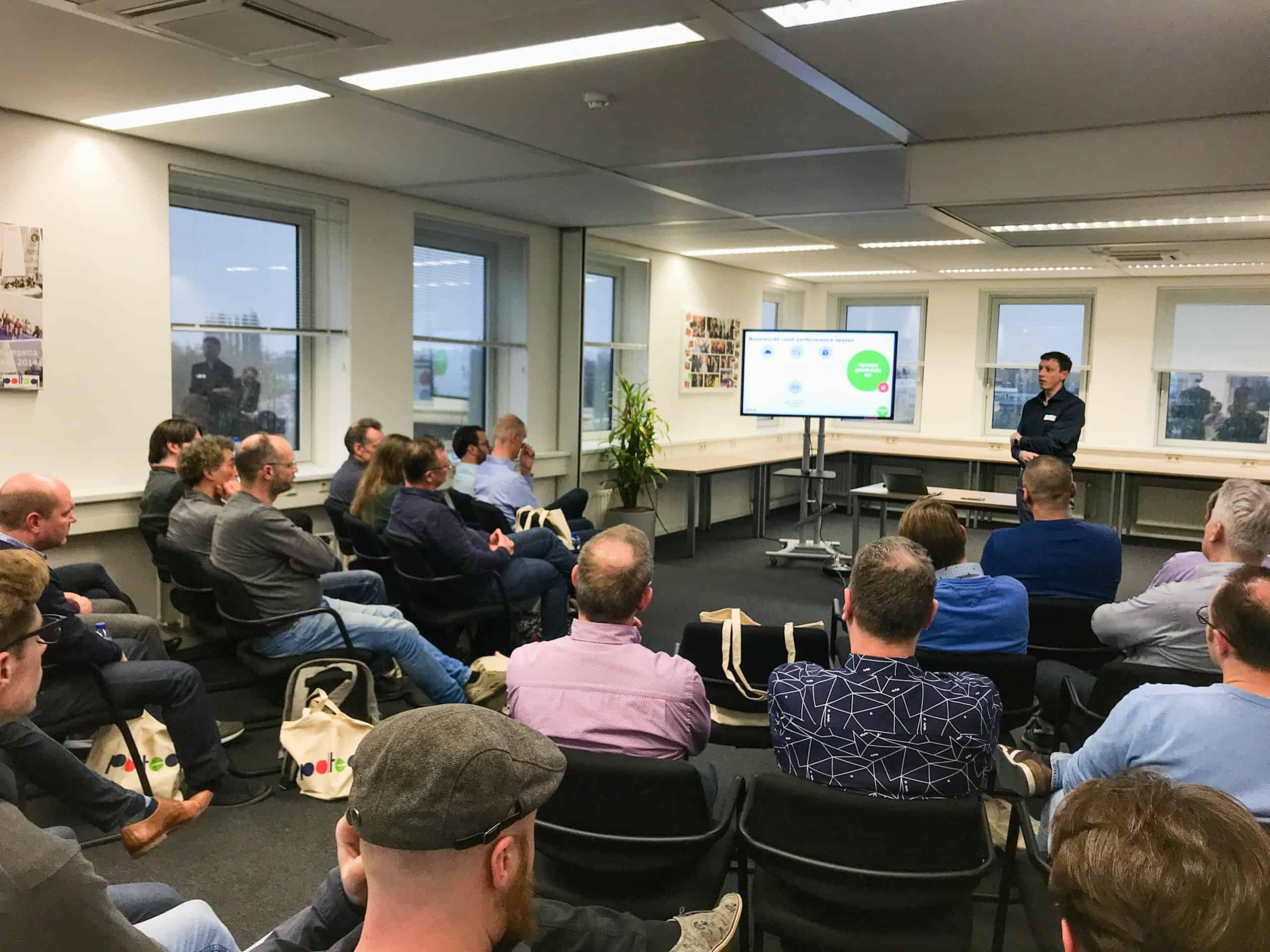 "Op donderdag 5 maart organiseerde Polteq het gratis seminar: Continuous (Mobile) Performance Testing: ""Performance Testing in DevOps Organizations"""