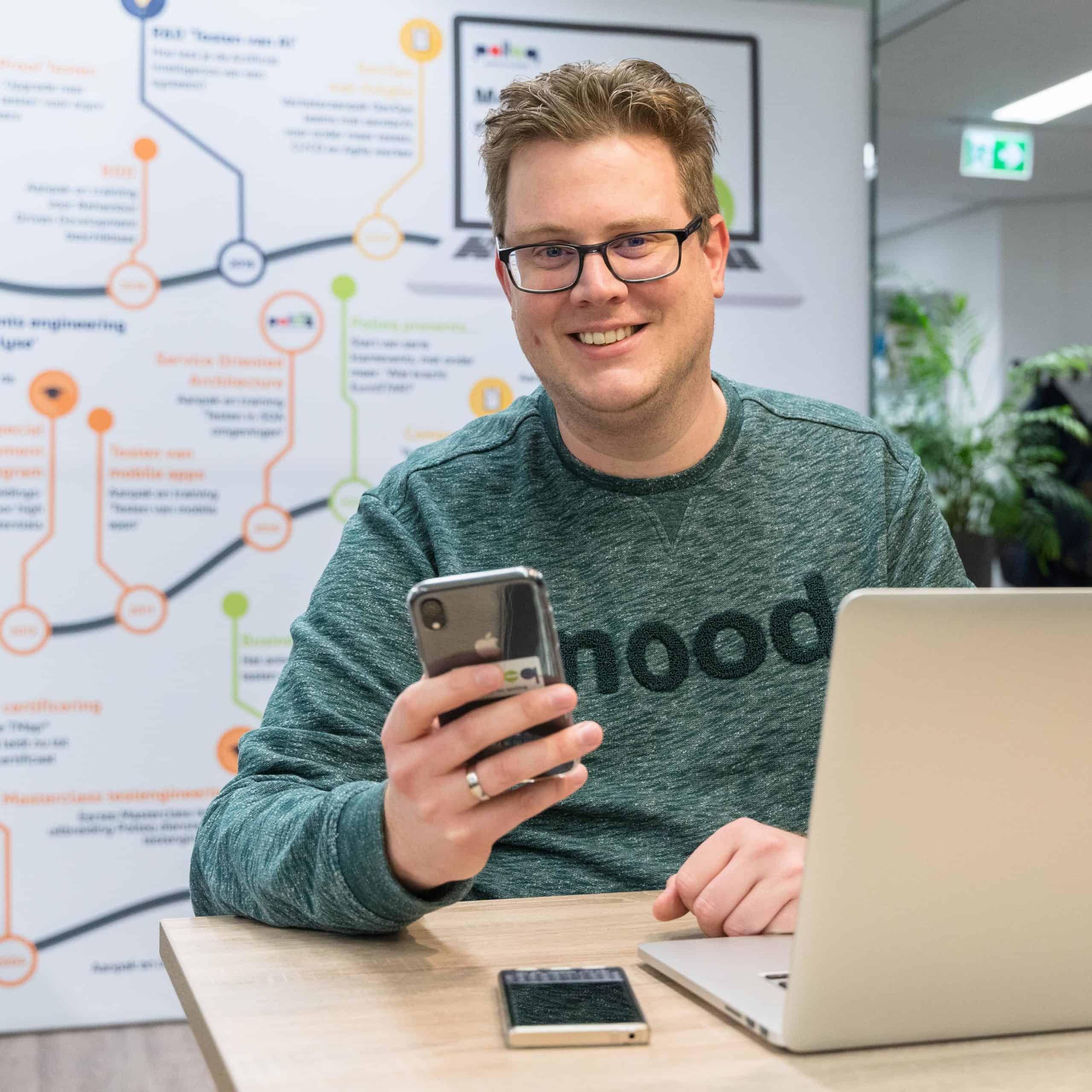 """Interview met Mobile Testexpert Vincent de Vries: """"Ik wil vooroplopen op het gebied van mobile app testen"""""""