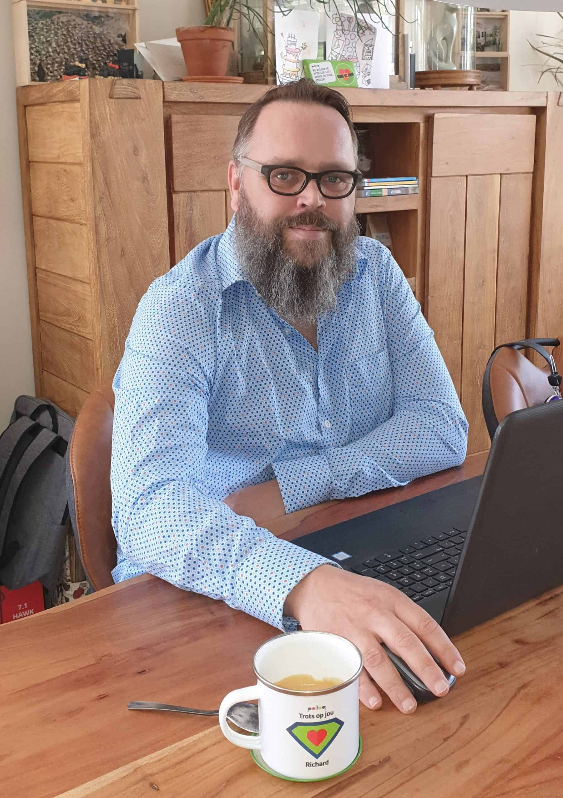 Richard van de Velde, werkzaam in de unit Zuid, over werken bij Polteq
